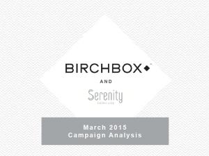Birch campaign